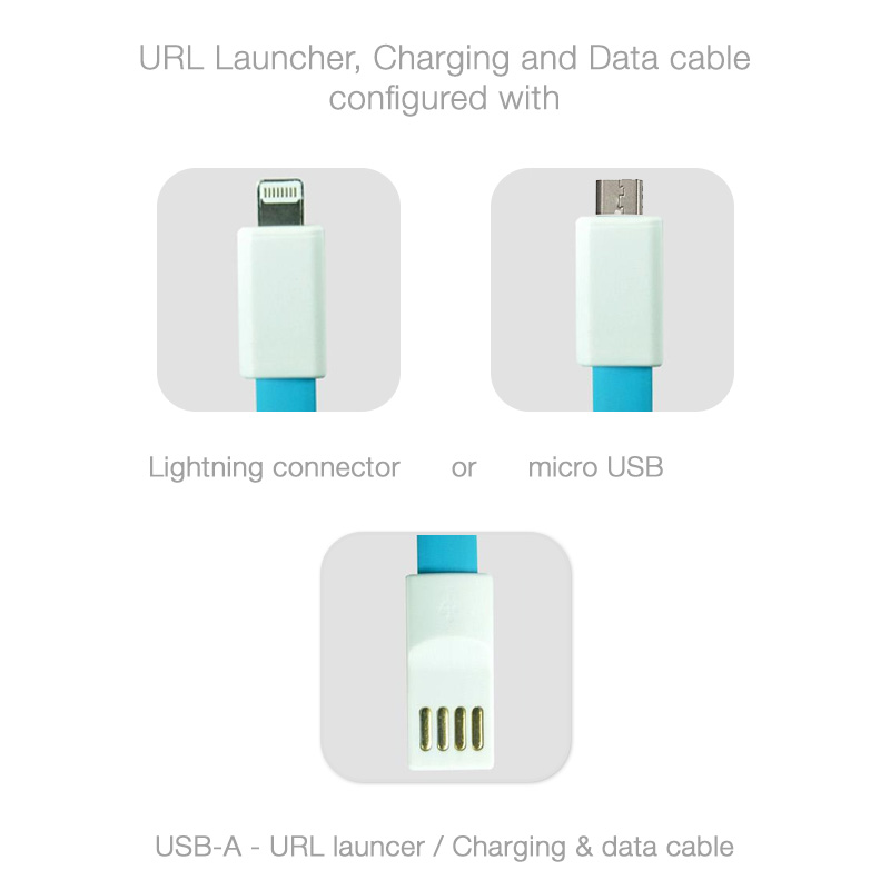 Single charging cable launcher